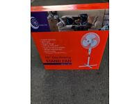 "Stand fan 16"" Oscillating stand fan bran new boxed"