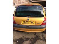 Renault Clio 02 reg.