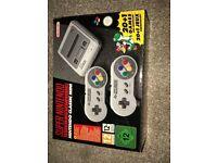 Nintendo Classic Mini: Super Nintendo Entertainment System (Brand new)