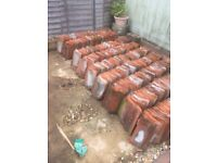 APPROX 1700 PLUS RED ROOF TILES, SOME RIDGE, MOST HANDMADE