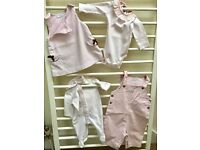 Jacadi light pink baby girl clothes range