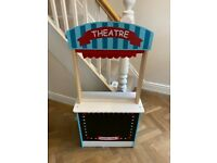 Puppet Theatre & Market Stall with chalk board- 2 in 1 - Near Mint Condition