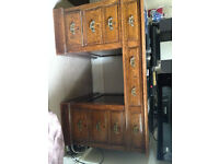 Solid Oak Desk and Chair
