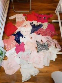 Huge baby girls 3-6 month clothes bundle - 121 items