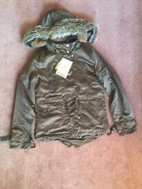 New Barbour style Ladies Jacket, size S