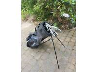Used Hippo Golf Clubs and Bag