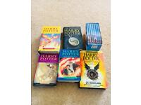 Harry Potter and chronicles of Narnia set of books