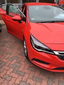 Vauxhall Astra sri 1.4 turbo