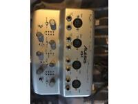 Audio interface (Alesis IO4)