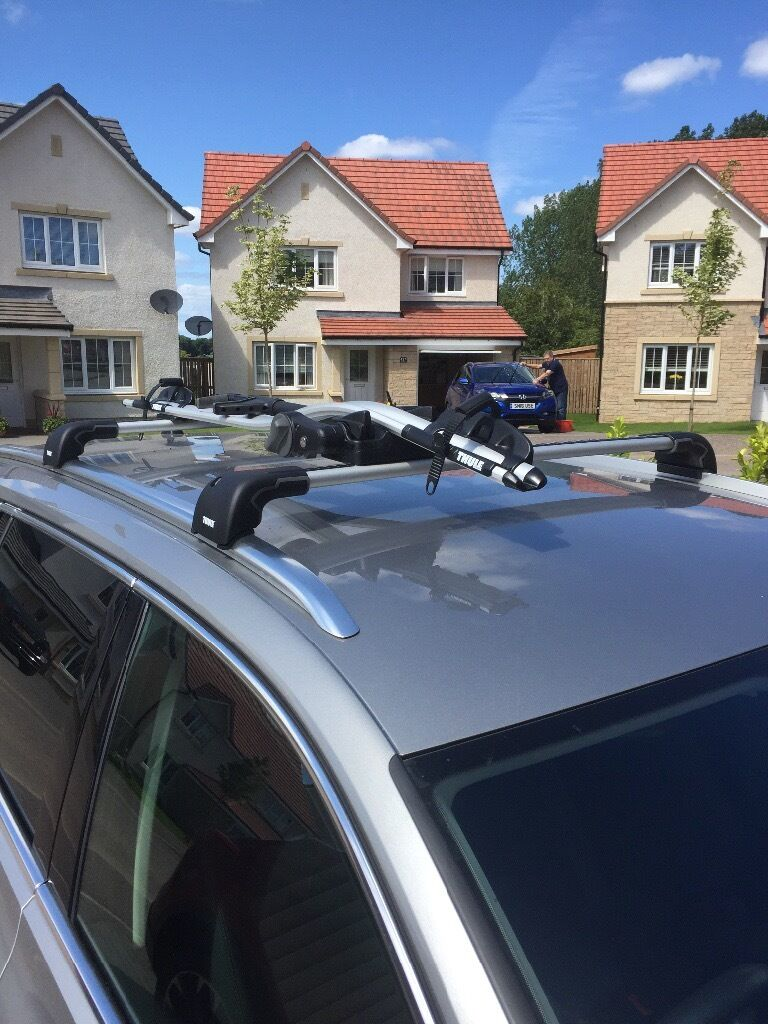 Thule Wingbar Edge 9594 With Foot Pack Kit 4059 Fits Vw