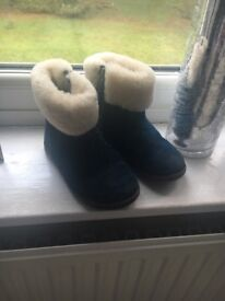 Ugg boots navy blue size 8