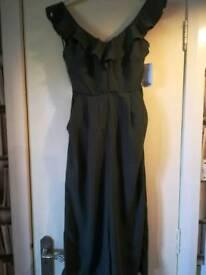 Size 8 Green Jumpsuit BNWT
