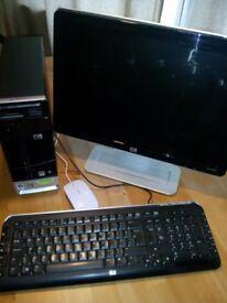 HP Pavilion s3431uk Slimline - Athlon 64 X2 4400+ 2.30 GHz - 3 GB ram - HDD 335 GB