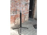 Set of 3 Industrial Clothes Rails Shop Fitting