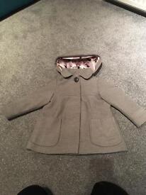 Next coat girls 3 - 4 years