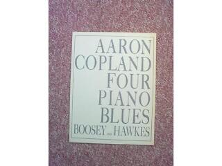 Piano sheet music - aaron copeland