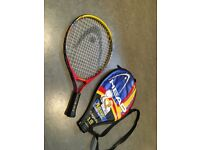 Junior tennis raquet Head