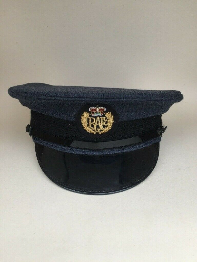 Genuine British RAF Royal Air Force Enlisted Airman No1 Dress Hat All Sizes NEW