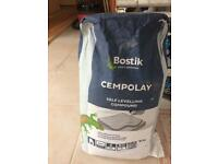 3 bags Bostik Cempolay Self-levelling compound.