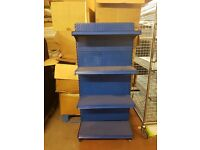 Blue Promotional Wall Bay For Retail, Great Condition. Cheapest Available on Market and Gumtree.