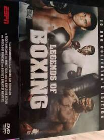 Legends of boxing collectors edition 10 DVD set