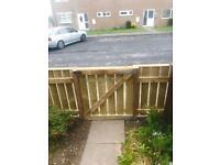 Hand made gates and fences.