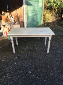 A very strong kitchen table