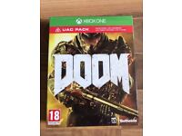 doom inc dlc (brand new & sealed) , xbox one ! price stands , no offers !