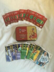 Panini Russia 2018 Adrenalyn Trading Cards for swapping