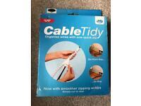 Cable tidy BNIB black 1.5m