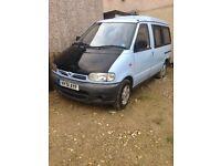 51. Nissan vanette. £595