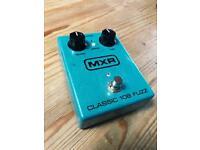 MXR 108 Classic Fuzz pedal Guitar fuzzface