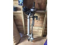 Seagull long shaft outboard motor
