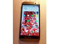HTC M8 SILVER 16GB UNLOCKED
