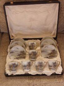 Japanese Eggshell Tea Set (circ 1910) Boxed