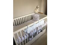 Ikea baby cot (it is never used)