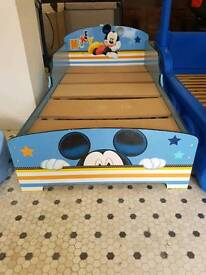 BARGAIN MICKEY MOUSE BEDSTEAD ONLY £15
