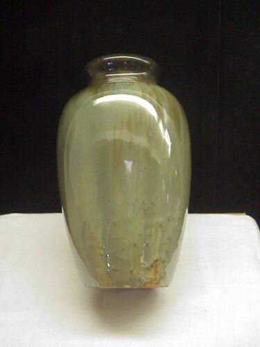 Vintage Fulper Vase Flambe Glaze c 1920