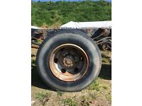 Lorry wheels and tyres x 6. 8.5R17.5 tyres.