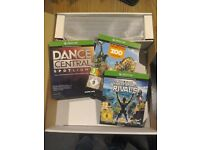 Xbox one kinect + 3 games brand new and unused