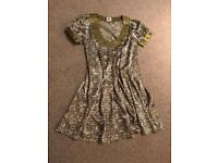 "Green limited edition ""Lily Love"" dress - UK 10"