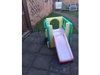 Little Tikes Junior Activity Gym Cube Slide
