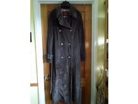 M&S Per Una ladies coat full length.New.Never Worn.Size 10-12.