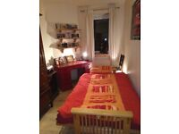 Short term accommodation in friendly flat share