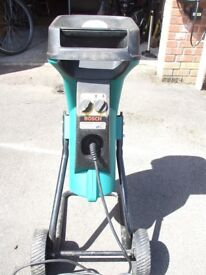 Bosch Garden Shredder AXT 200 HP -ideal for turning pruned bushes into mulch and compost.