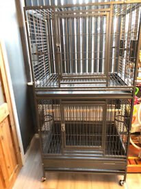 Large double Parrot / Bird Cage