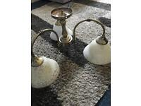 3 lamp ceiling light