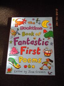 The book time book of Fantastic First Poems