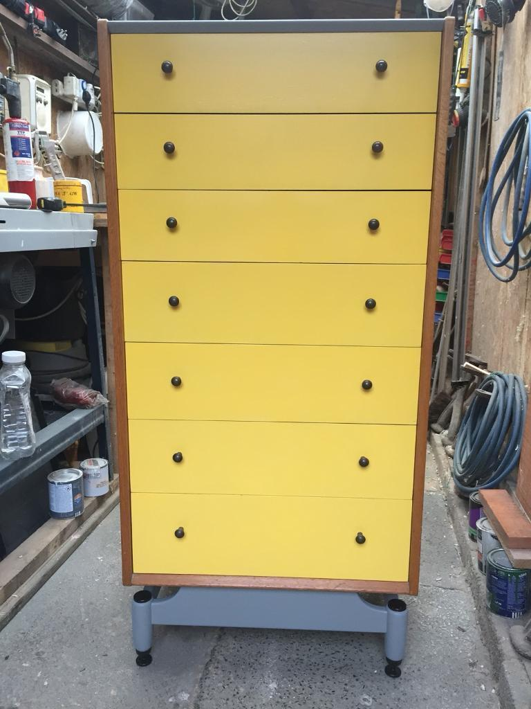 Super retro G plan Mid century set of drawers