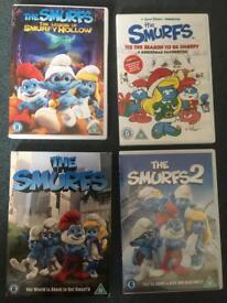 4x Smurf DVDs